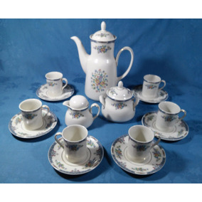 Royal Doulton Precioso Jogo Café 15 Pçs Porcelana Inglesa