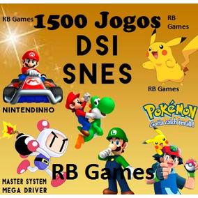 Cartucho 1500 Jogos De Nintendo Ds, Dsi P/ 3ds, 2ds, New