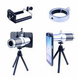 Kit De Lentes Telefoto 14x Para Samsung S6 Edge Plus