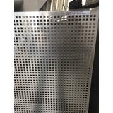 Láminas De Aluminio Perforadas (perf. Cuadrada 8.00mm)