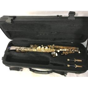Sax Soprano Selmer Lá Voix Ônix Chaves Dourada....