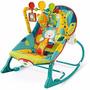 Cadeira De Descanso E Balanço Musical Fisher Price Safari