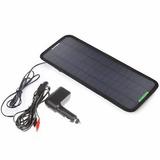 Placa Solar Automotiva 12v Carregador Bateria Carro