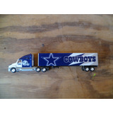 Tm.nfl Diecast Tractor-trailer 1.80 Cowboys