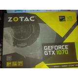 Tarjeta Grafica Zotac Geforce Gtx 1070 Mini 8 Gb Gddr5