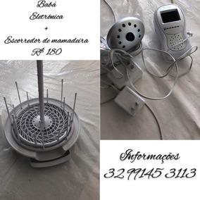 Baba Eletrônica + Escorredor De Mamadeira