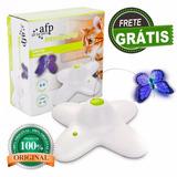 Brinquedo Interativo Automático Para Gatos - Flutter Bug Afp
