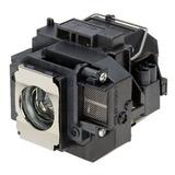 Lámpara De Repuesto Epson Powerlite S10 + Proyector Con La