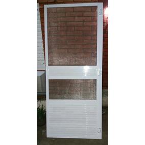 Puerta Mosquitero De Aluminio Color Blanco