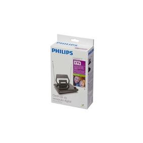 Antena Digital Amplificada Externa Philips 22db Frete Gratis