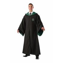 Disfraz Capa De Lujo De Harry Potter Slytherin Para Adultos