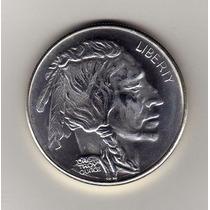 Ojo. Moneda Indio-bufalo. Bu.