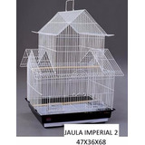Jaula Aves Canarios Imperia Hermosa La Mas Linda Petshopbeto