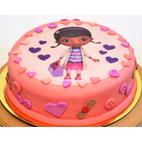 Torta Cumpleaños Decoradas Caseras Doctora Juguetes