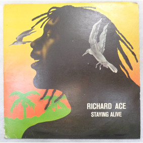 Richard Ace Jackie Opel Compacto Vinil Nac Staying Alive 80