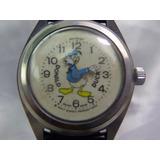 Relógio Comic Do Pato Donald - Walt Disney Relogiodovovô