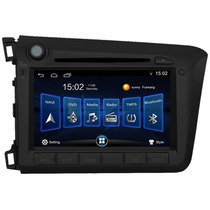 Kit Central Multimidia Dvd Gps Honda Civic M1 Android2012 Tv