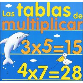 Material Educativo Para Niños, Tablas De Multiplicar