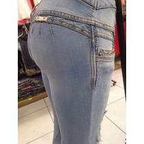 Jeans Dama Silver Body Roto Destrozado 2506 Bleanch Recto