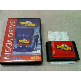 2758 Jogo Mega Drive Show Do Milhão Sem Uso