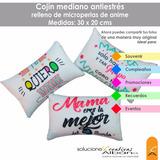 Cojin Almohada Personalizada Antiestres De 30x20 Cms