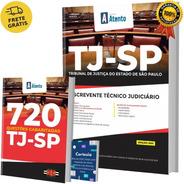 Kit Apostila Concurso Tj Sp Escrevente + Questões