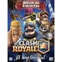 Album Oficial Clash Royale + 70 Figuritas Sin Repetir