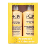 Felps Xrepair Kit Duo Shampoo E Condicionador 250ml + Brinde
