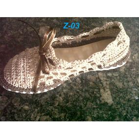 Zapatos Tejidos Damas