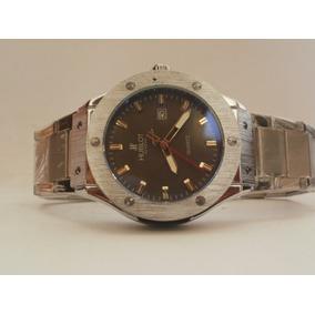 Precioso Reloj Hublot Con Fechador, Subasta Desde $1
