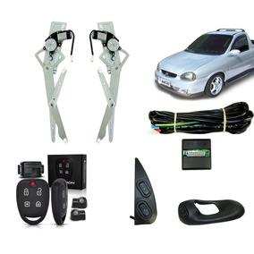 Kit Vidro Elétrico Corsa Pick-up + Alarme