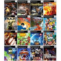 Jogos Patch Playstation 2 - Kit Com 25 Patch De Jogos De Ps2