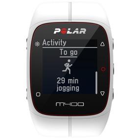 Reloj Polar M400 Hr Monitor De Entrenamiento Blanco