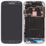 Tela Frontal Samsung Galaxy S4 4g/gt-i9505 Branco/azul