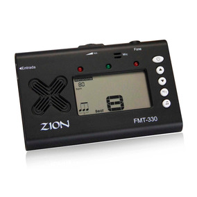 Afinador Cromático Metrônomo Eletrônico Digital Zion C/ Cabo