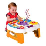 Smart Table Calesita Mesa Didáctica Musical Encastres Bebe