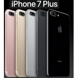 Apple Iphone 7 Plus 128 Gb 12mp Libres Caja Sellada 4k 128gb