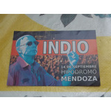 Indio Solari - Volante Presentación Mendoza 2014
