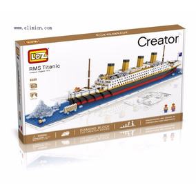 Loz Creator 9389 Titanic 1860 Peças *pode Retirar*