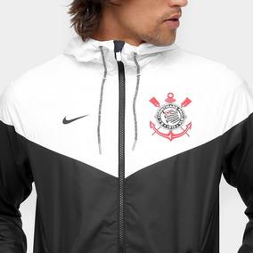 ... Authentic Masculina Nike  92fc973df43 Roupao Masculino Do Corinthians  Preto - Casacos no Mercado Livre Brasil c860d3c05643b
