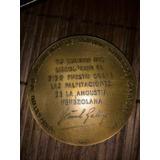 Moneda De Coleccion De Bronce, Rómulo Gallegos
