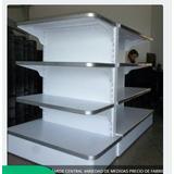 Estantes , `piramide Pared Cabezal Y Central Fabrica