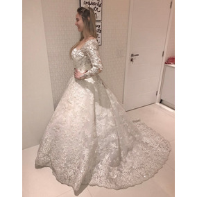 Vestido De Noiva Em Renda Paulo Dolce