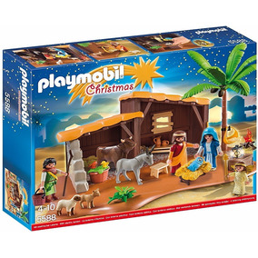 Playmobil 5588 Christmas - Nativity Stable W/manger/presépio