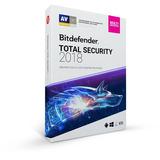 Antivirus Bitdefender Total Security 2018 3 Pc 1 Año