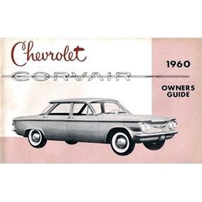 Automóvel Chevrolet Corvair 1960 Manual De Proprietário