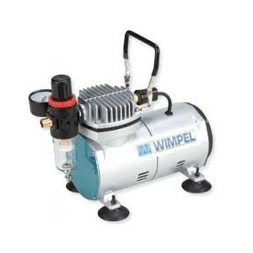 Compressor Ar Para Aerógrafo Wimpel Comp1 Bivolt Silencioso