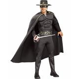 Roupa Cosplay Zorro Espadachin Heroi