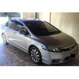 Honda Civic 1.8 Lxl Flex Aut. 4p Volante Borboleta Couro