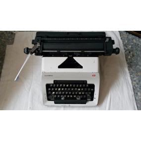 Máquina De Escribir Olympia Vintage Modelo Sg-3 Manual 1970s